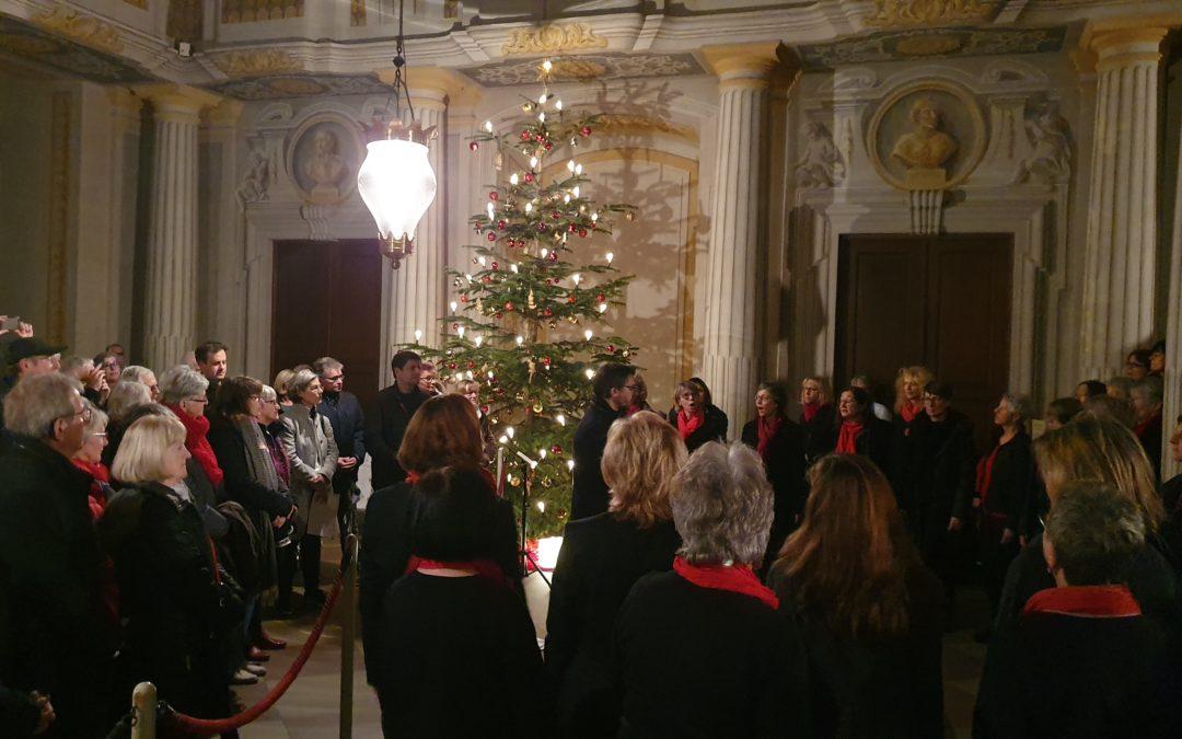 Adventssingen im Schloss Bruchsal